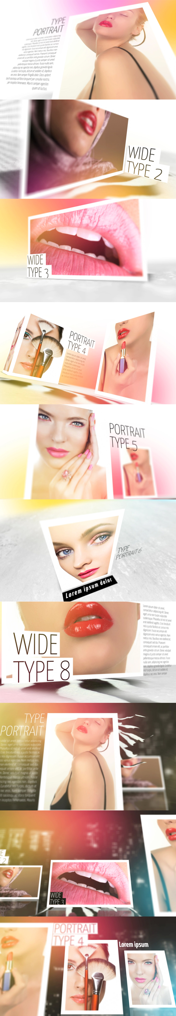 After Effects Template Slideshow