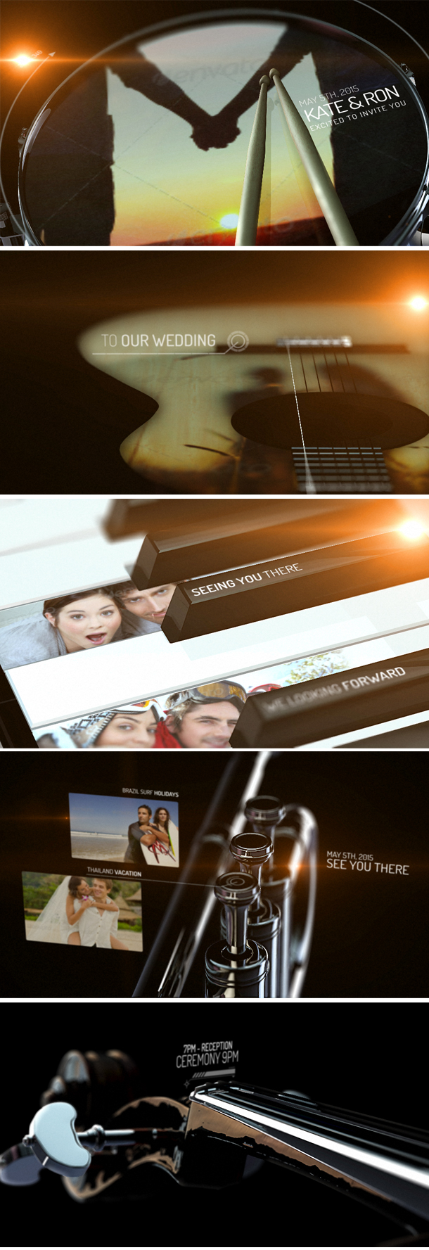 Macro Music Music Video Template After Effects - Music video template after effects