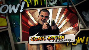 Comic Action Slideshow