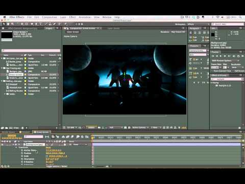 CS6 in 6 Minutes – after effects tutorials