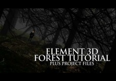 Element 3D Tutorial – Create a Forest