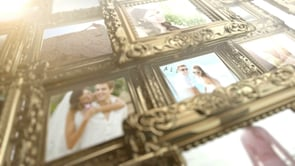 Vintage Frames –  After Effects Wedding video