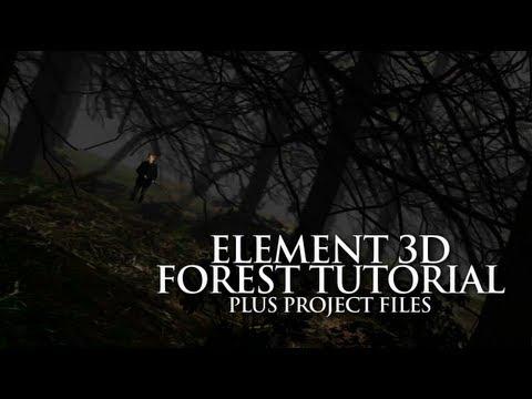 Element 3D Tutorial – Create a Forest