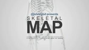 Skeletal Map – Medical Animation