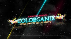 Colorganix – After Effects Particles Project