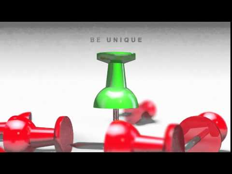 Be Unique – Pushpin