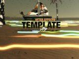 Acid Beach After Effects Template 4K